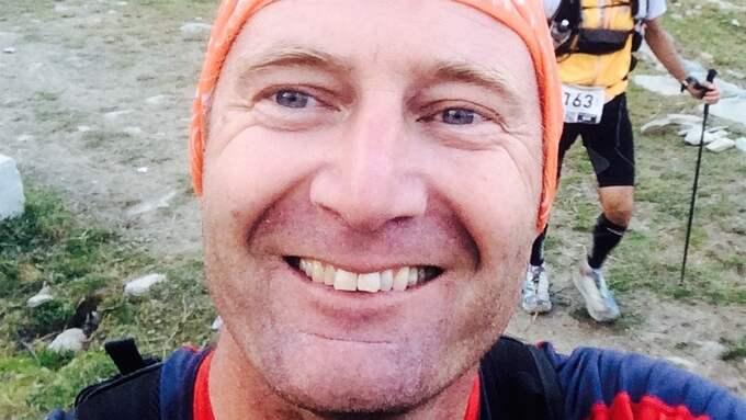 Ultralöparen Johan Wagner satsar på att springa runt Mont Blanc för femte gången – men först ska han besegra cancern. Foto: Privat