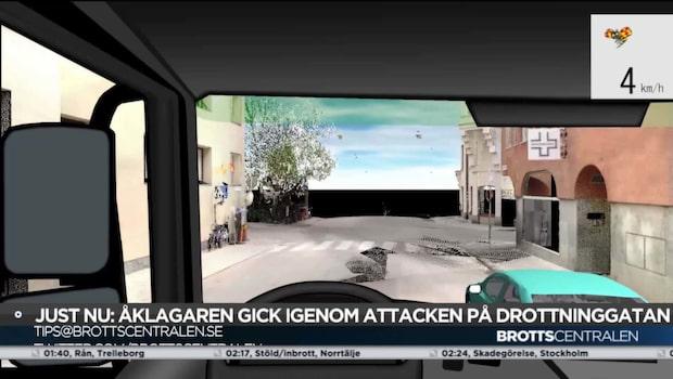 Ny 3D-teknik visar lastbilens färd vid terrordådet