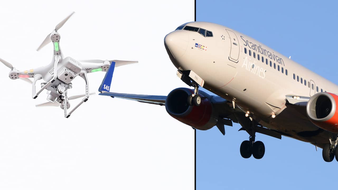Branslebrist for tva plan nar dronare stoppade flygtrafik