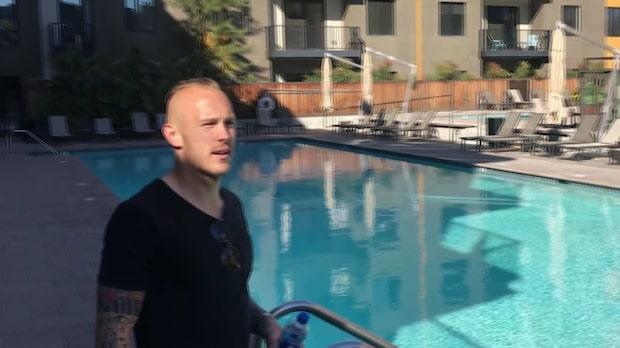 Skyttekungens nya liv i USA – så bor Magnus Eriksson