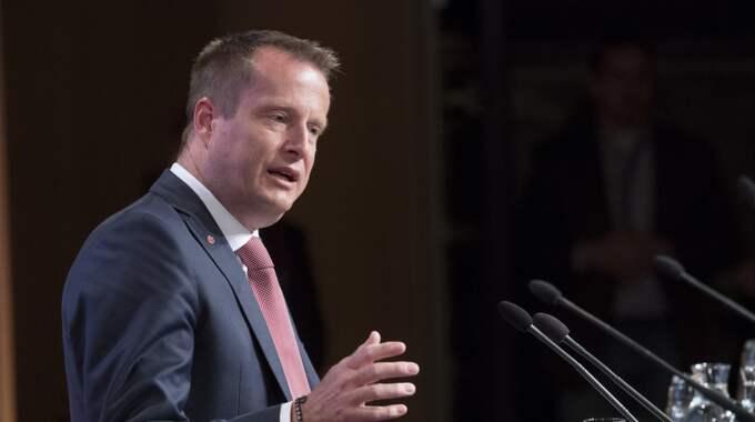 Enligt inrikesminister Anders Ygeman, S, tror att ett zonförbud skulle vara verkningslöst. Foto: Sven Lindwall