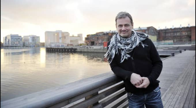 """Angenäma minnen. Christer Björkman är tillbaka i staden där allting började för 20 år sedan. Då represtenterade han Sverige i Eurovision Song Contest med låten """"I morgon är en annan dag. Foto: lasse svensson Foto: Lasse Svensson"""