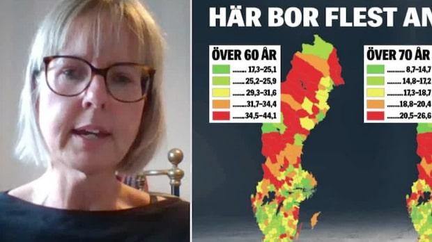Områdena i Sverige som är mest utsatta under coronapandemin