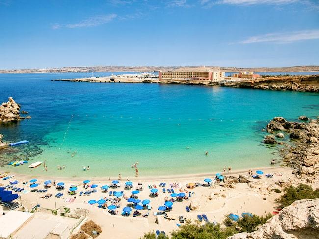 Ett hotellrum på Malta är mer än dubbelt så dyrt som en lägenhet via Airbnb.