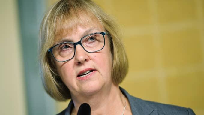 Trafikverkets generaldiriktör Lena Erixon fortsätter vara Sveriges bäst betalda myndighetschef. Foto: TT NYHETSBYRÅN