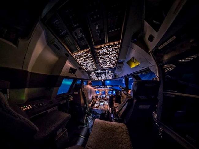 Den holländske piloten har verkat i yrket i fjorton år.