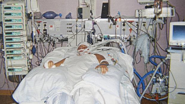 Nicole skadades för livet i svår trafikolycka