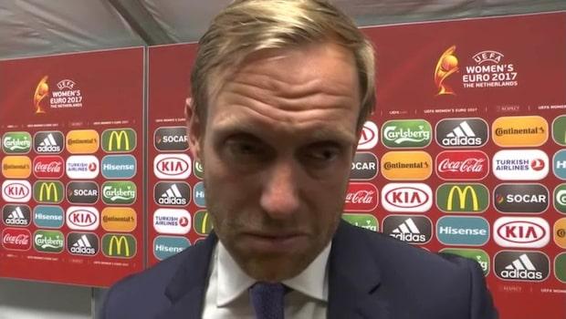 """Sjögren efter Norges sorti: """"Besviken"""""""