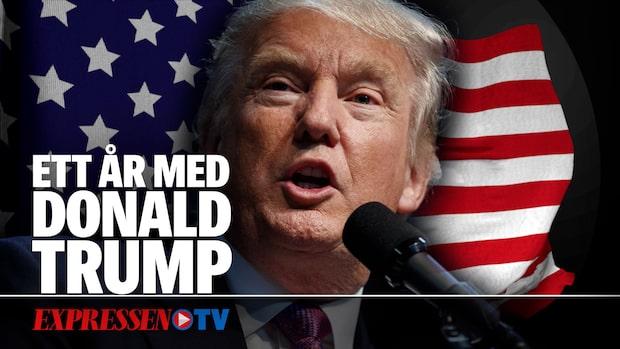 Ett år med Trump som president– så har det gått