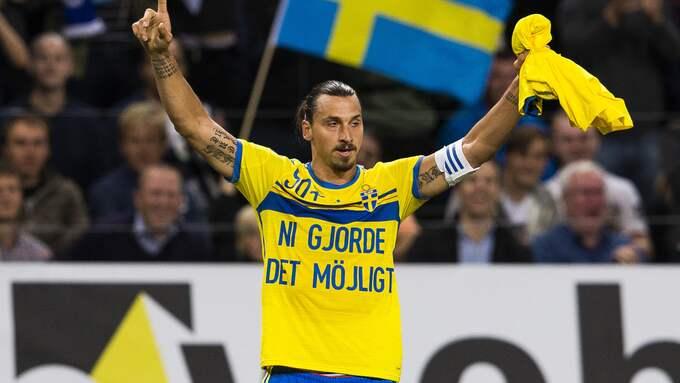 Zlatan Ibrahimovic. Foto: ANDREAS L ERIKSSON / BILDBYRÅN