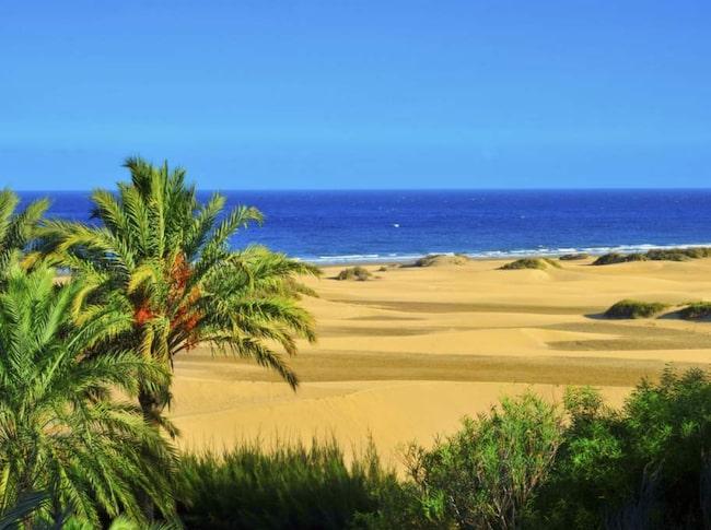 Maspalomas, Gran Canaria.