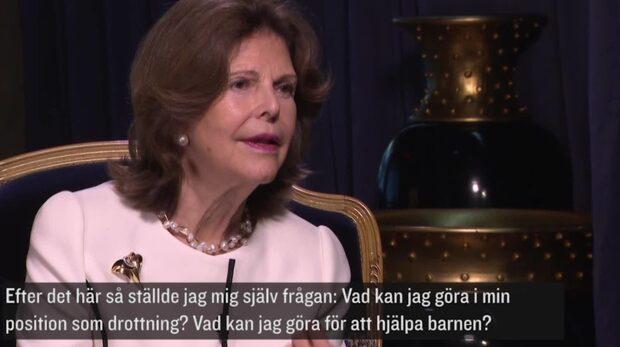 """Drottning Silvia: """"Ingen lyfte frågan om sexuella övergrepp"""""""