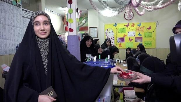 """Väljare i Iran: """"Mitt hemlands framtid är viktig"""""""