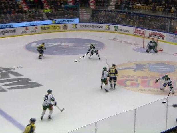Highlights: Hv71-Färjestad 4-3