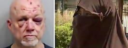 54-åring försökte strypa Sonya med hennes niqab
