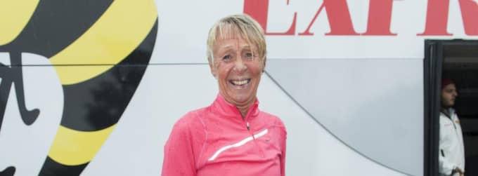 Evy Palm är en svensk löparlegendar. Foto: Alexander Donka