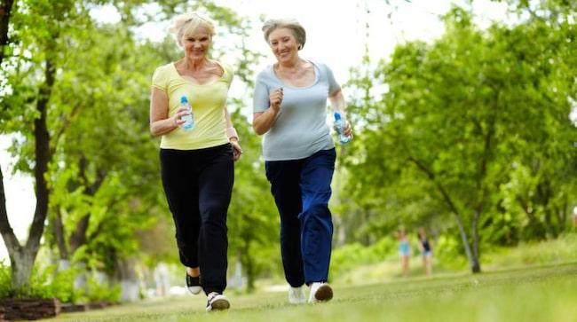 Ett träningspass då och då är ett av de bästa sätten att minska risken för förmaksflimmer.