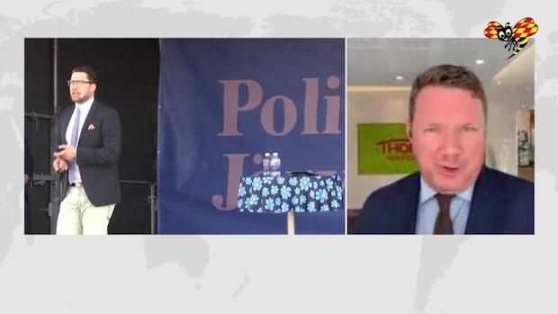 "Niklas Svensson: ""Hård kritik mot SD"""
