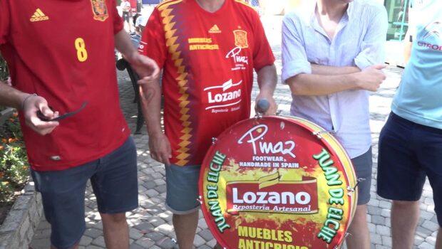 Spanska fansen om situationen i landslaget