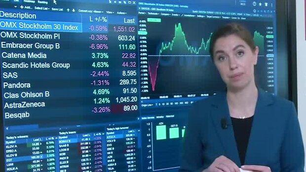 Marknadskoll: Börsen fortsatt ner - H&M och Electrolux i botten