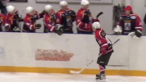 Karlstad Hockeys egen glädjespridare