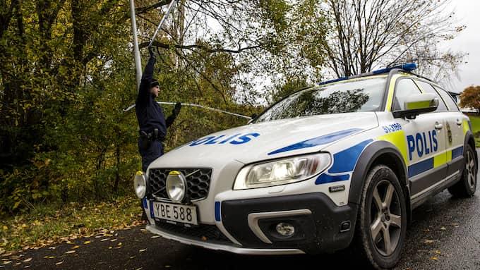En man har hittats död i Göteborg. Polisen misstänker mord. Foto: HENRIK JANSSON