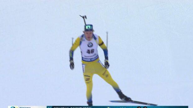 Sebastian Samuelsson tia i världscupen
