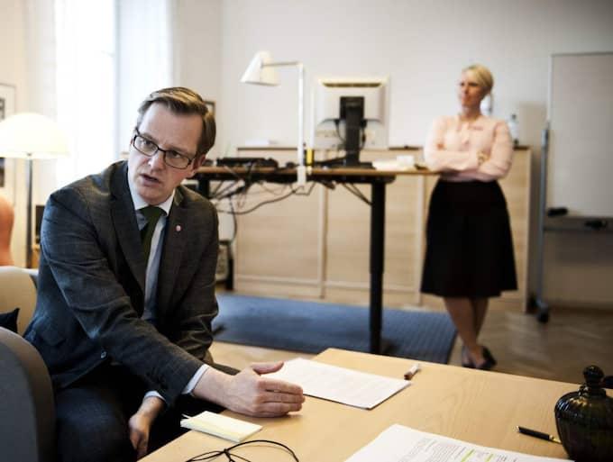 Enligt SvD Näringsliv nobbar flera av de inbjudna direktörerna mötet med Damberg och Wallström. Men enligt Ann Wolgers, pressekreterare hos Mikael Damberg, stämmer inte flera av uppgifterna. Foto: Anna-Karin Nilsson