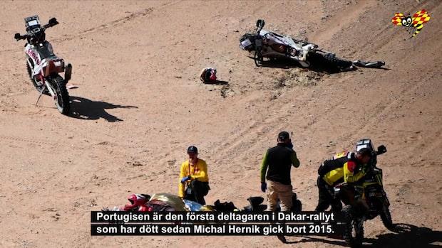Dödskrasch i Dakarrallyt – Paulo Goncalves avled