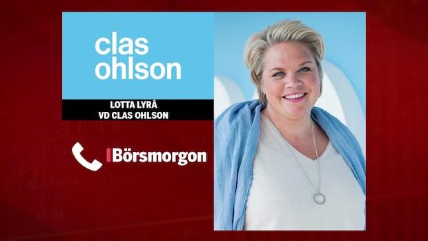 "Clas Ohlsons vd: ""Det har varit en bra sommar"""