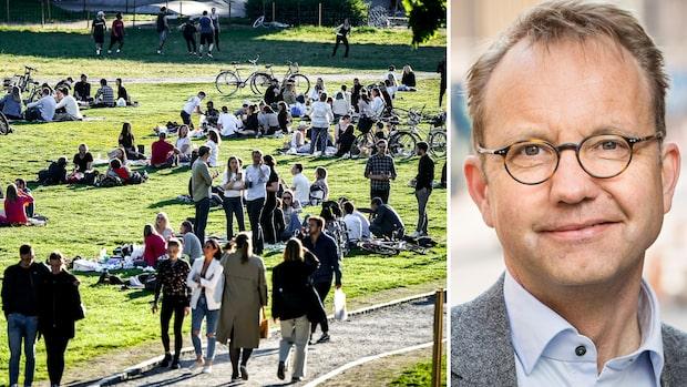 """Inga döda i Stockholm senaste veckan: """"Vi måste glädjas"""""""