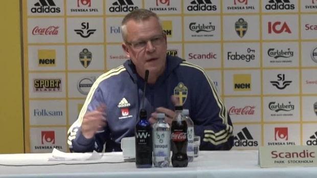 """Janne Andersson: """"Det hade jag inte haft respekt för"""""""