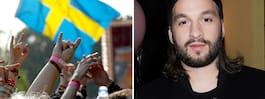 Steve Angello vill se massa flaggor på Malmöfestivalen