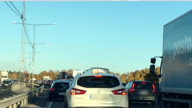 """Trafikvarningen: """"Det kommer att bli köer"""""""