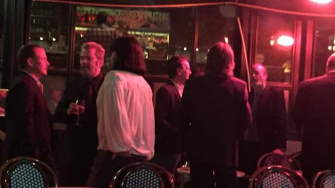 Under söndagen firade Björn och Benny sitt samarbete med en privat fest på Berns salonger i Stockholm. Foto: Eva Rogsten
