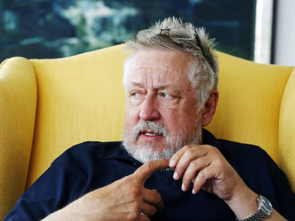 "Leif GW Persson är tillbaka i rutan med ""GW:s mord"". Foto: Cornelia Nordström"