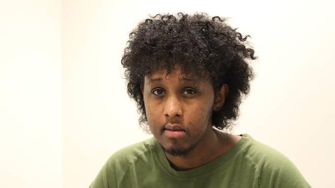 Ahmed Warsame, 26, dömdes till livstids fängelse för inblandning i morden på Vår krog och bar. Han var kusin med Yuusuf Warsame, som dog i lägenhetsexplosionen i Biskopsgården. Foto: DANIEL OLSSON