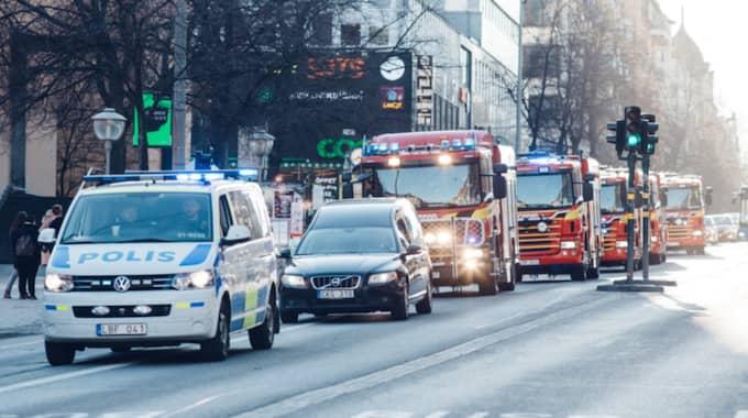 """""""Den åkte från kyrkan, ner till Sveavägen och ut på E4 via Norrtull"""", berättar Andreas Nielsen. Foto: Hillsong Church"""