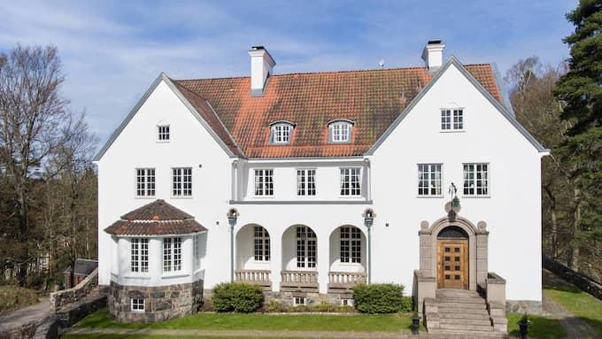 Drömhus till salu: pris 19,5 miljoner kronor. Foto: Jörgen Hinder, Skeppsholmen Sothebys
