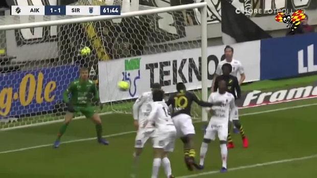 Bryter måltorkan – Obasi kvitterar för AIK