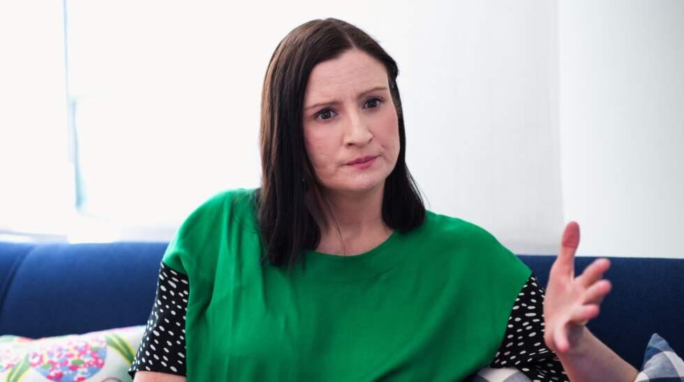 """Riksdagspolitikerns kommande bok """"Duktiga flickors revansch"""" är en feministisk pamflett. Foto: Mikael Sjöberg"""