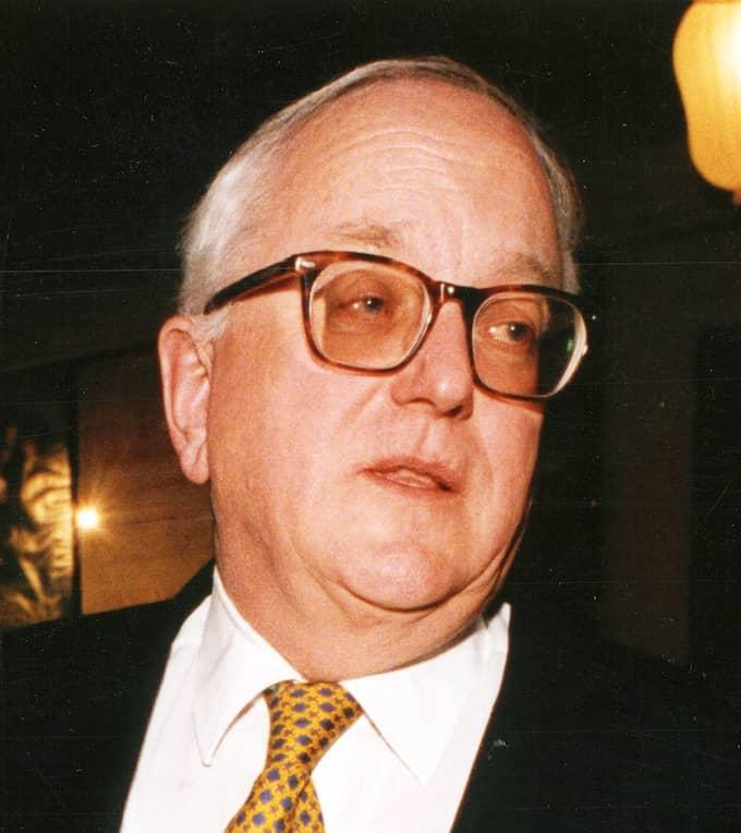 Nils G Åsling var ordförande i riksdagens finansutskott 1974–76, därefter industriminister i Thorbjörn Fälldins regeringar 1976–1978 och 1979–1982. Foto: MARTINA HUBER