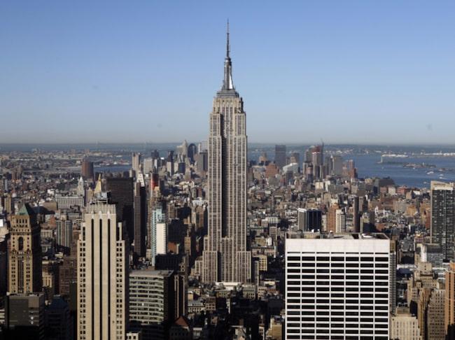 <span>Empire State Building – ett viktigt landmärke för New York.</span>