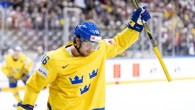 Jacob Josefsson i Tre Kronor-tröjan. Foto: OLLE WANDE / FOTO: OLLE WANDE / KOD: 7138 EXPRESSEN