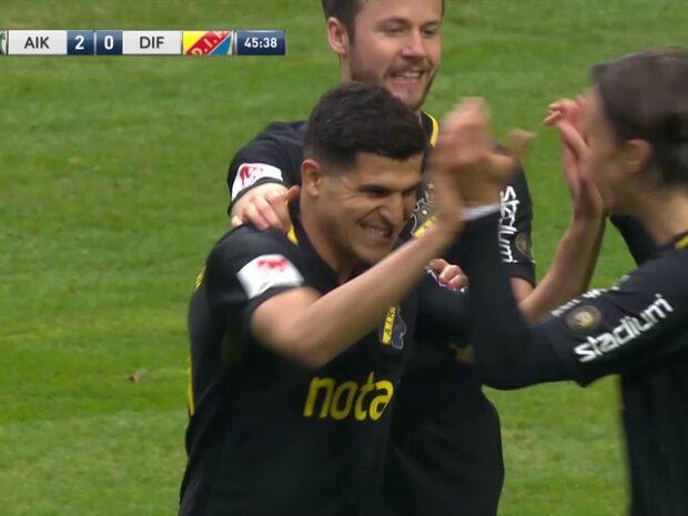 Höjdpunkter: AIK besegrade Djurgården i heta derbyt