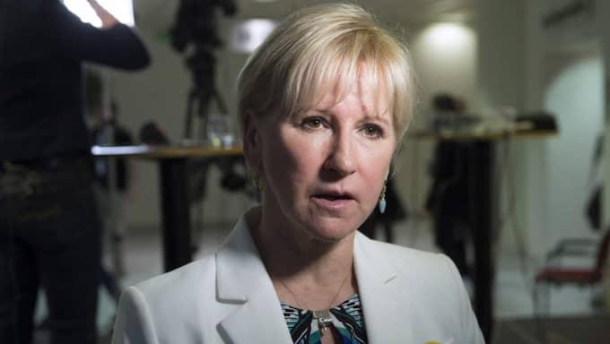 Urikesminister Margot Wallström. Foto: Sven Lindwall