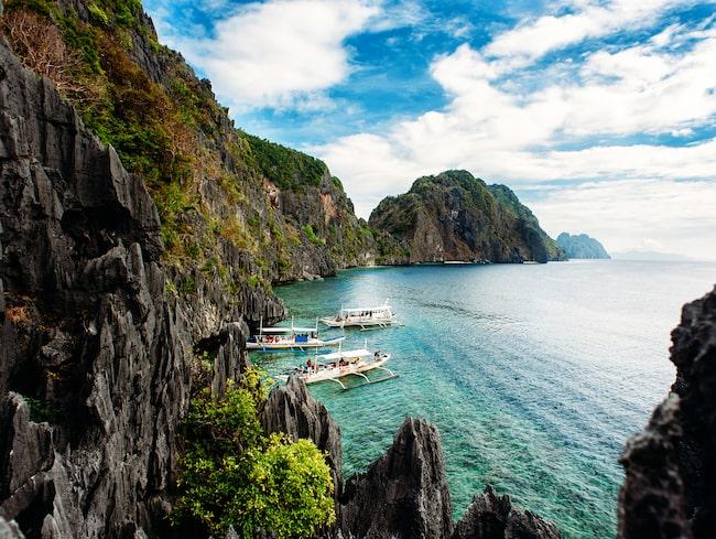 Filippinska ön Palawan har utsetts till världens vackraste ö tre år i rad. I år hamnar den på en tredjeplats.