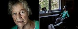 Ingrid, 93, vårdas i hemmet mot sin vilja