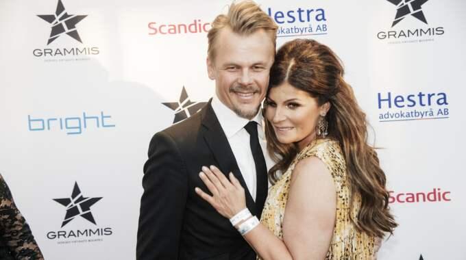 Jimmy Källqvist och Carola. Foto: Olle Sporrong