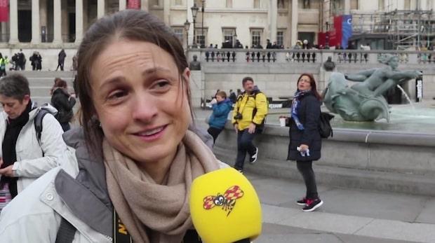 Så tänker London-turisterna om terrorattacken